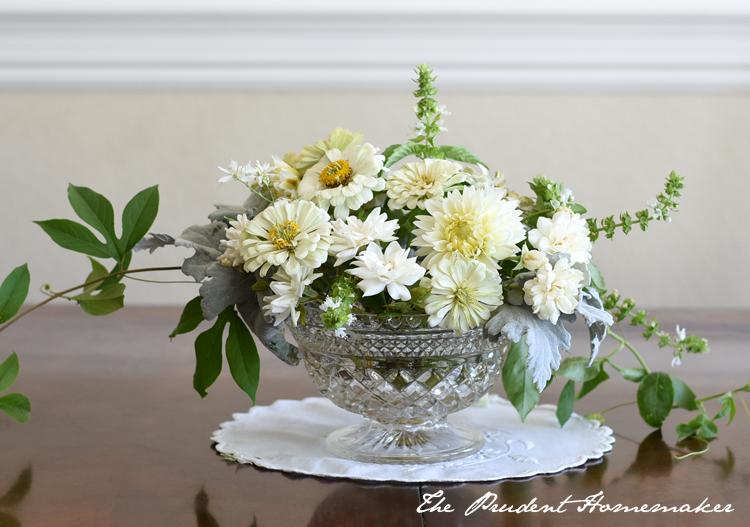 Dahlias Zinnias Iceberg Roses The Prudent Homemaker