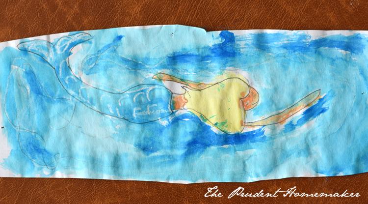 Watercolor Mermaid The Prudent Homemaker