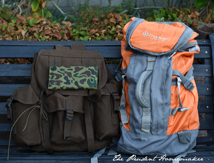 72 Hour Kit Backpacks The Prudent Homemaker