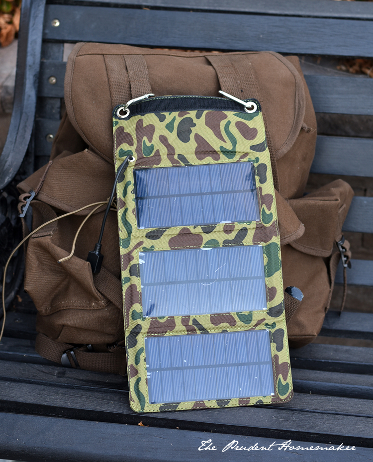 72 Hour Kit Solar Charger The Prudent Homemaker