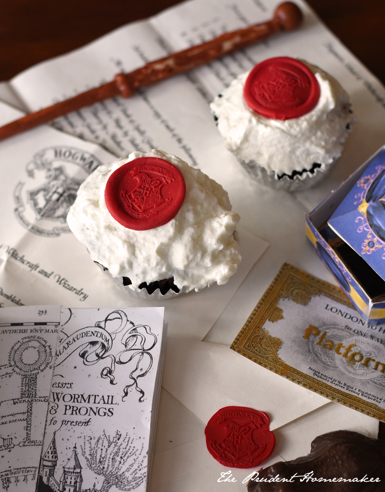 Harry Potter Cupcakes The Prudent Homemaker