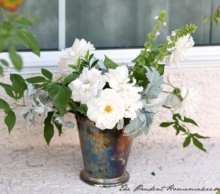 Flowers in November The Prudent Homemaker