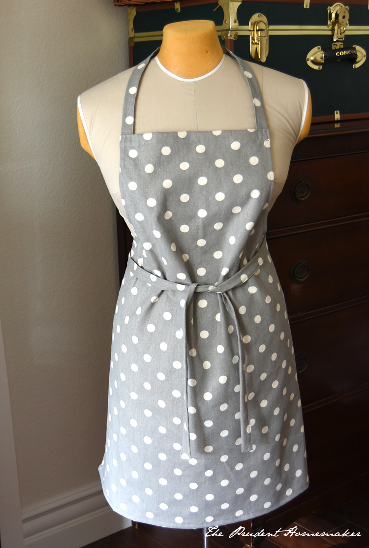 Polka Dot Apron The Prudent Homemaker