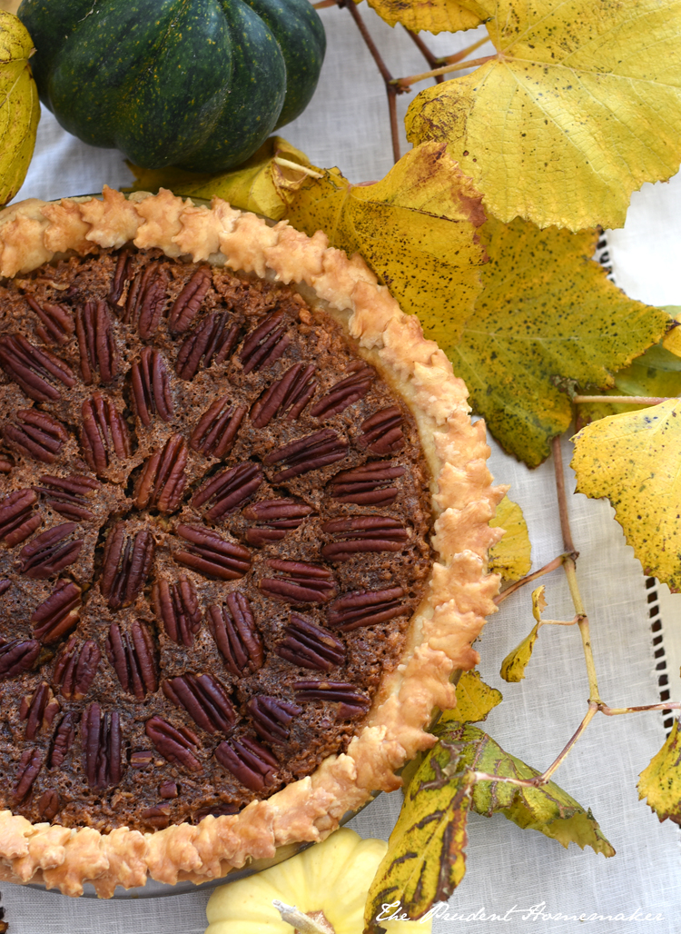 Thanksgiving Pecan Pie The Prudent Homemaker