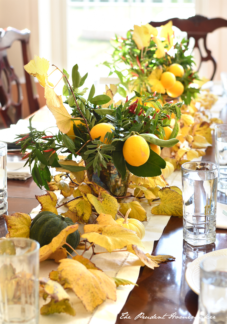Thanksgiving Table The Prudent Homemaker