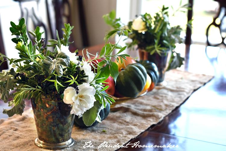 Thanksgiving flowers The Prudent Homemaker