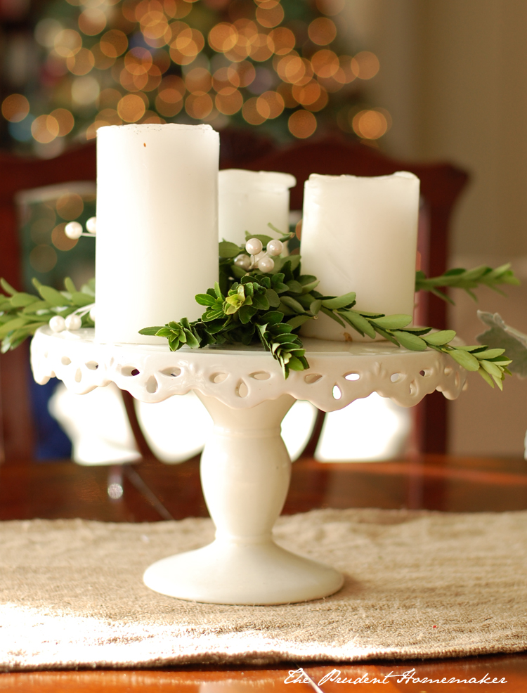 Christmas Candles The Prudent Homemaker