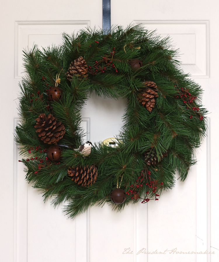 Christmas Wreath The Prudent Homemaker