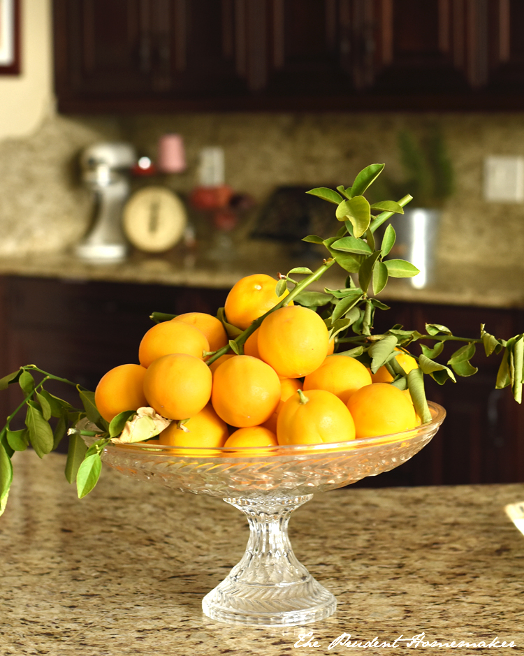 Lemons in the kitchen The Prudent Homemaker