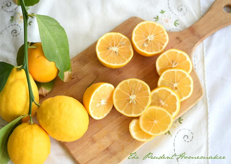 Lemons The Prudent Homemaker