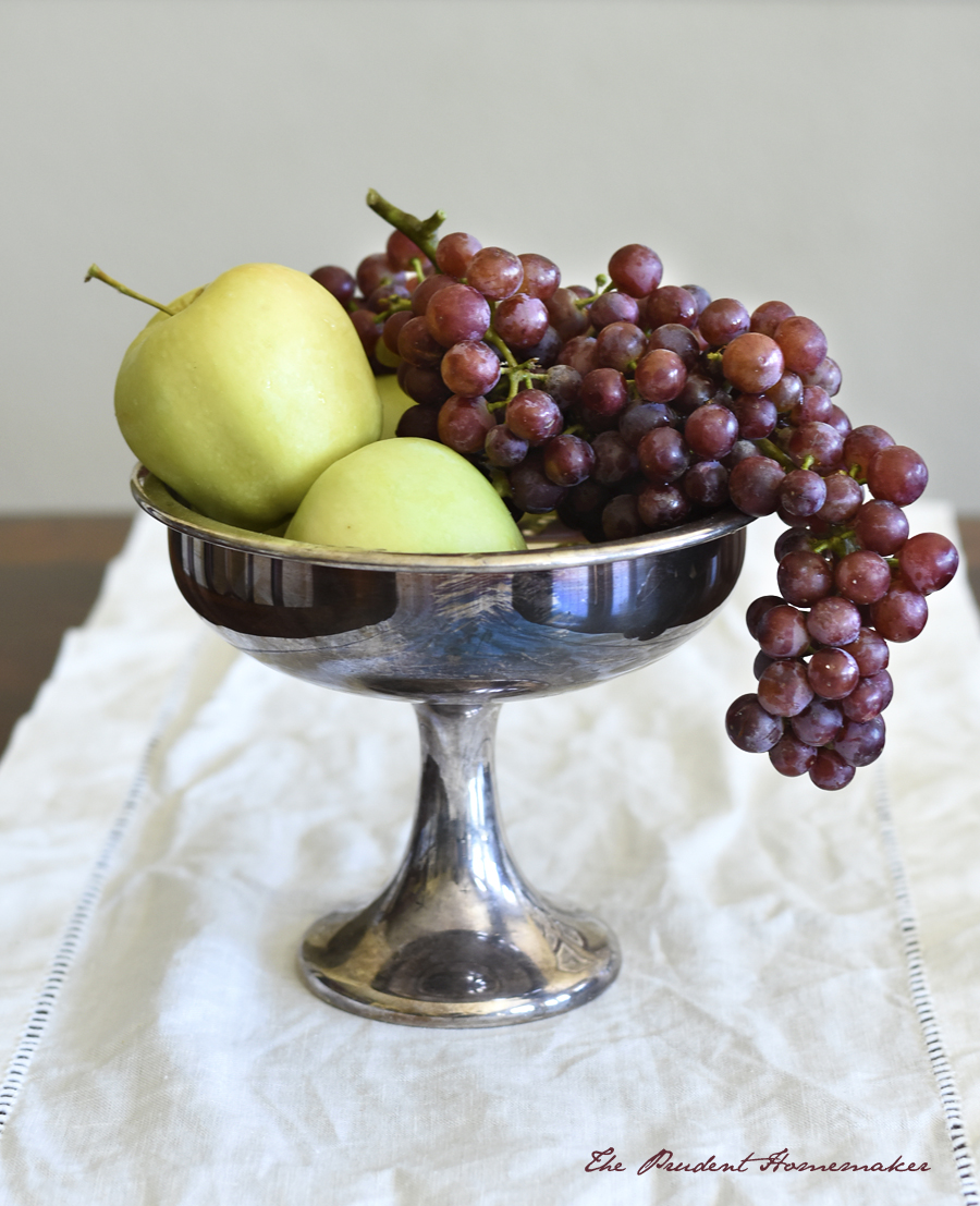 Apples and Red Flame Grapes The Prudent Homemaker