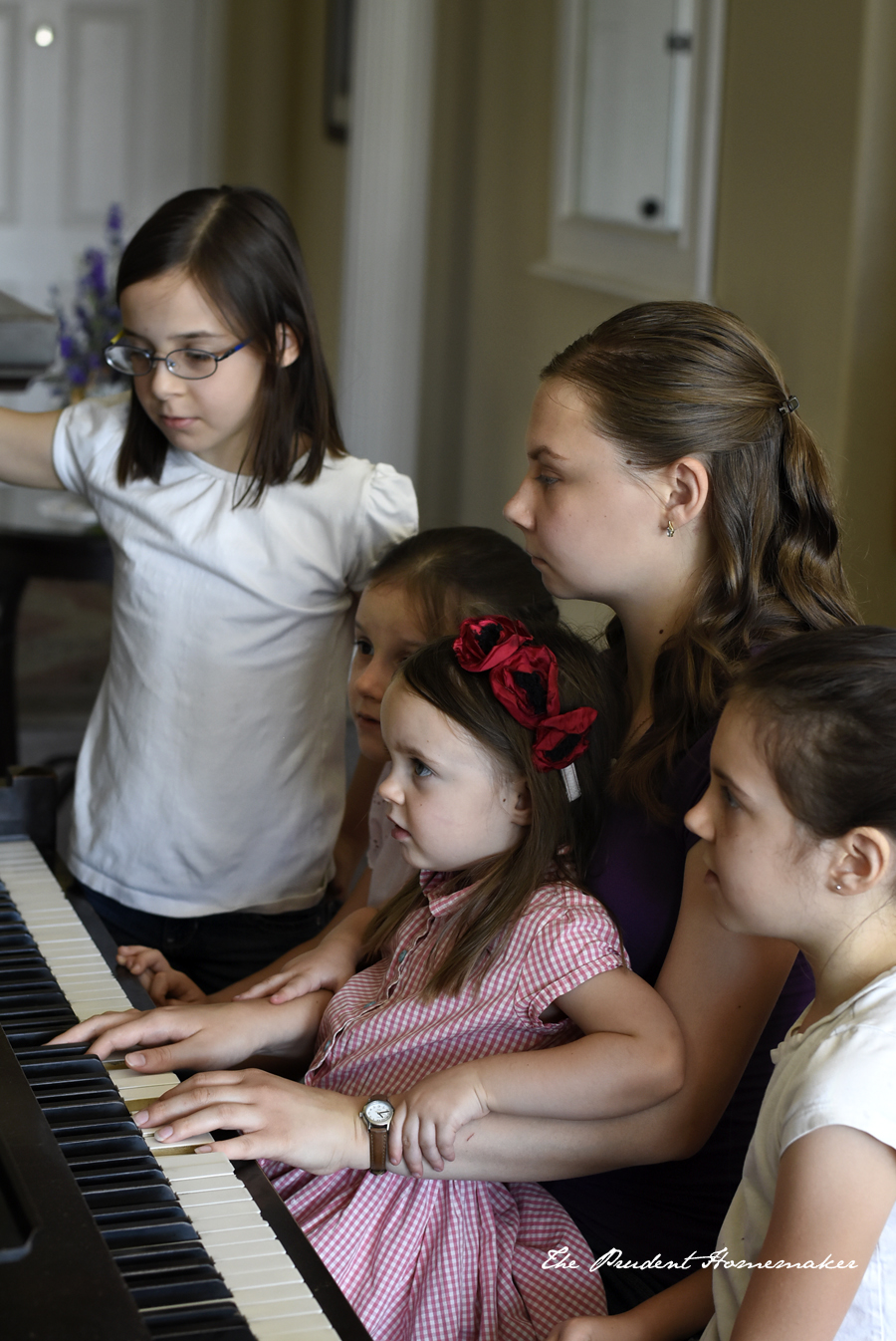 Girls at the Piano The Prudent Homemaker