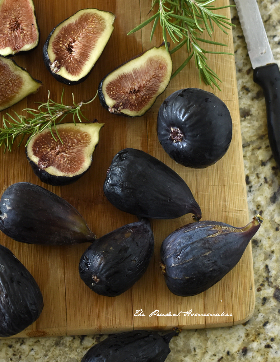 Mission Figs and Rosemary The Prudent Homemaker