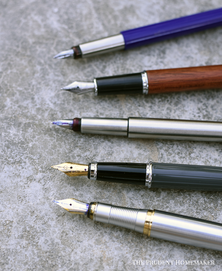 Fountain Pens The Prudent Homemaker