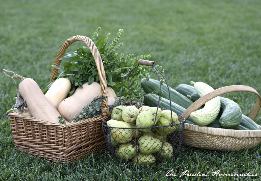 September Harvest The Prudent Homemaker