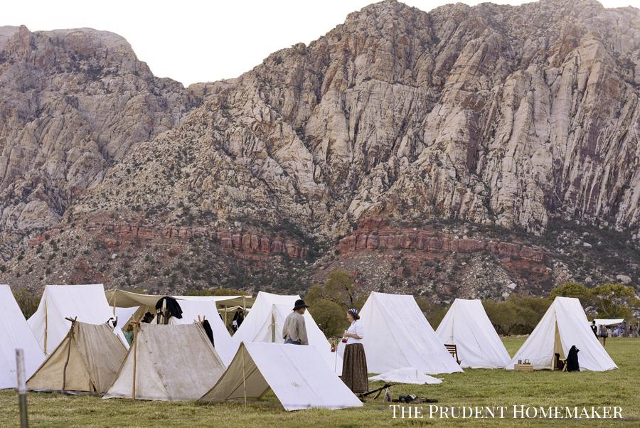 Civil War Camp The Prudent Homemaker