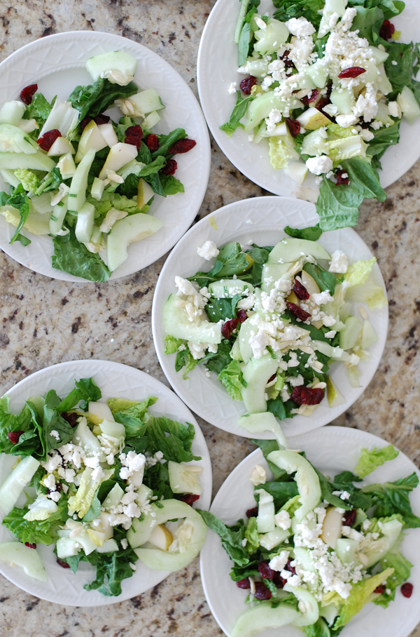 Cucumber Pear Salads The Prudent Homemaker