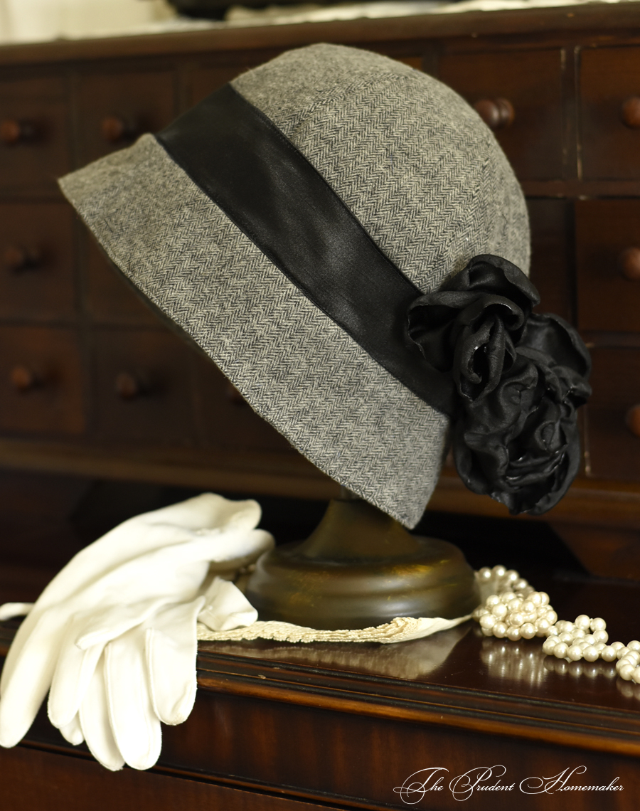 A Gift a Day 2016: Day 4: Brushed Cotton Cloche