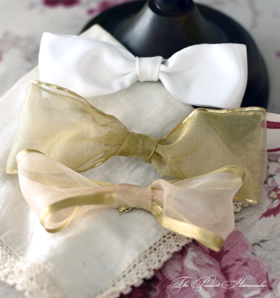 Hairbows The Prudent Homemaker