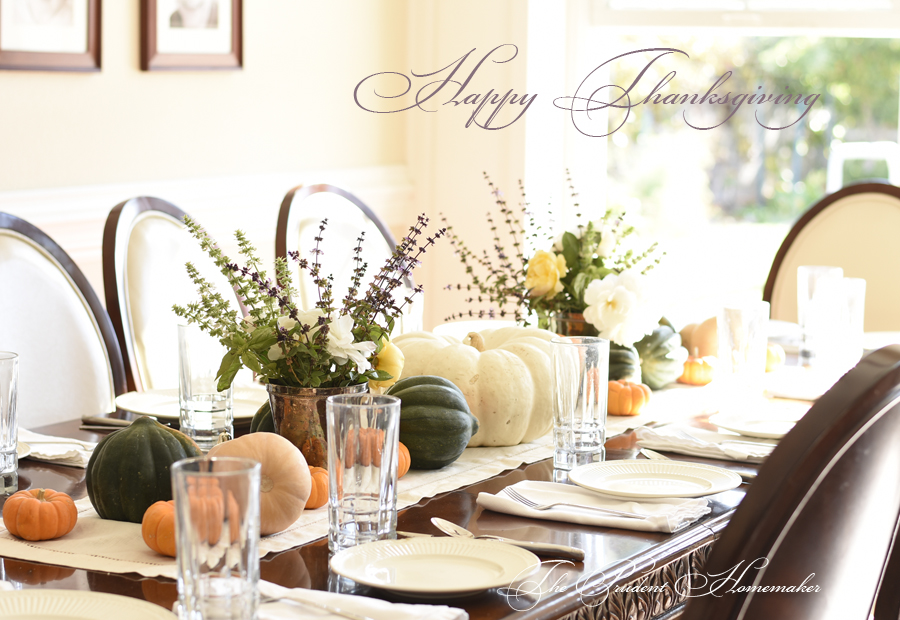 Happy Thanksgiving The Prudent Homemaker