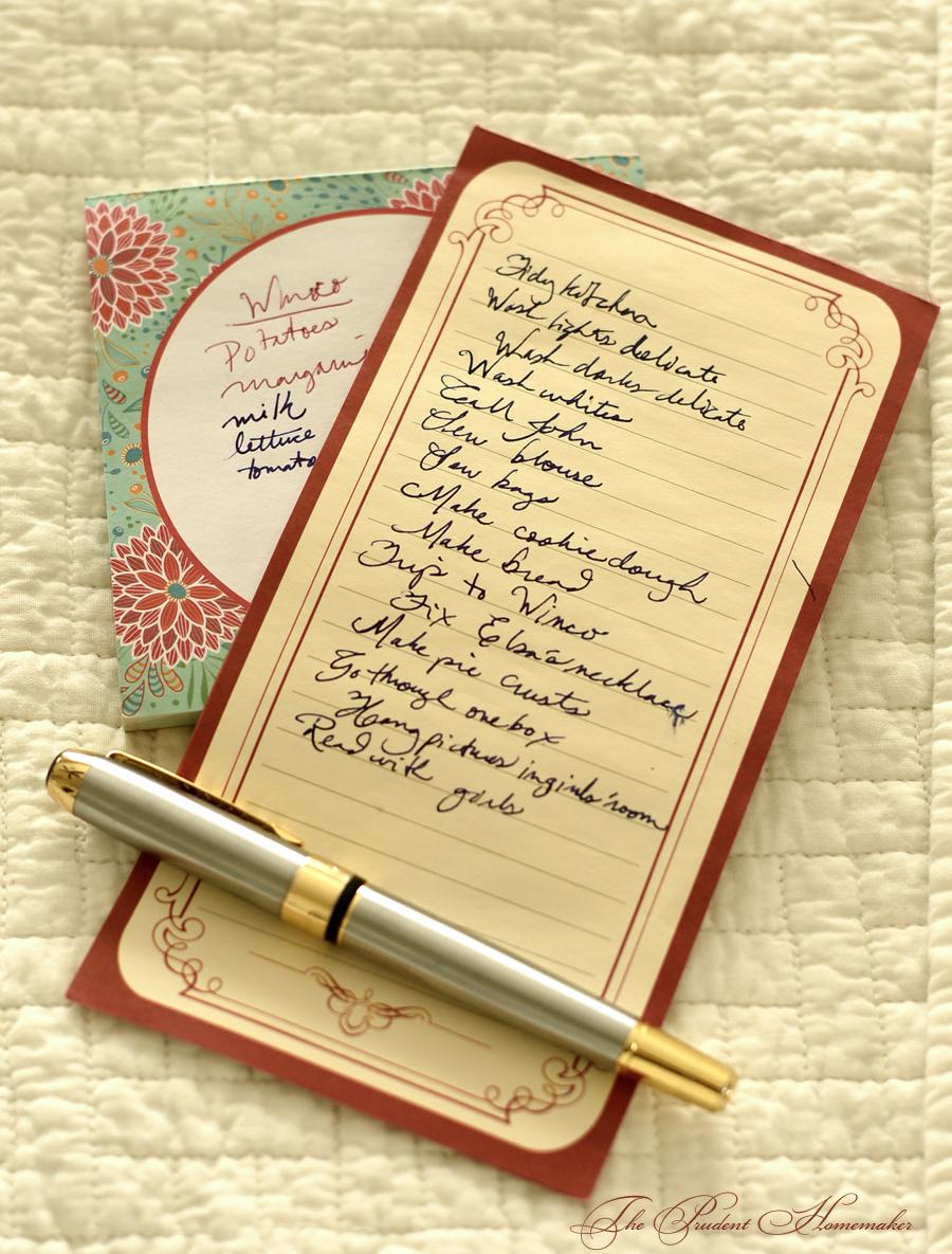 November To Do List The Prudent Homemaker