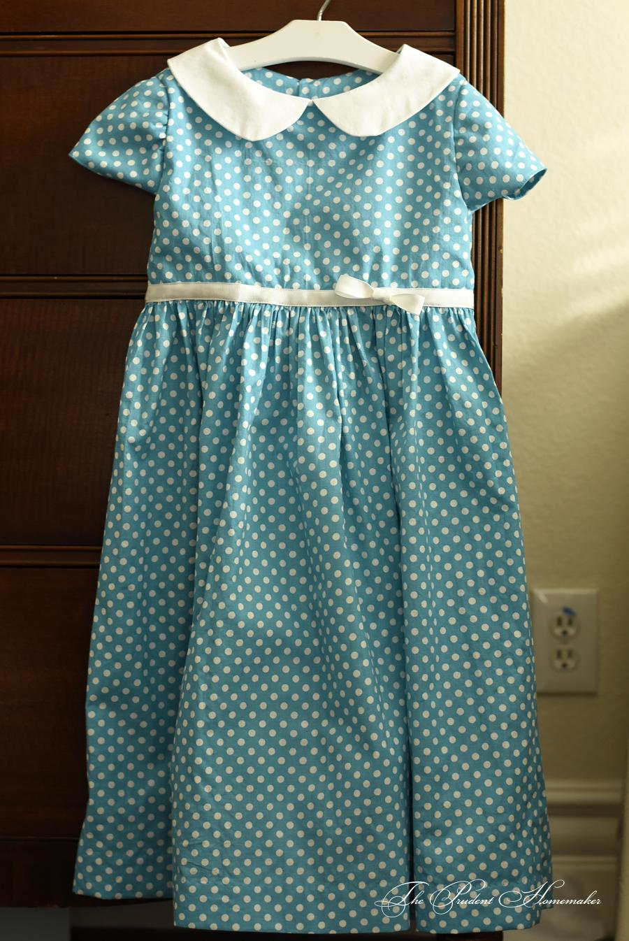 Polka Dot Dress The Prudent Homemaker