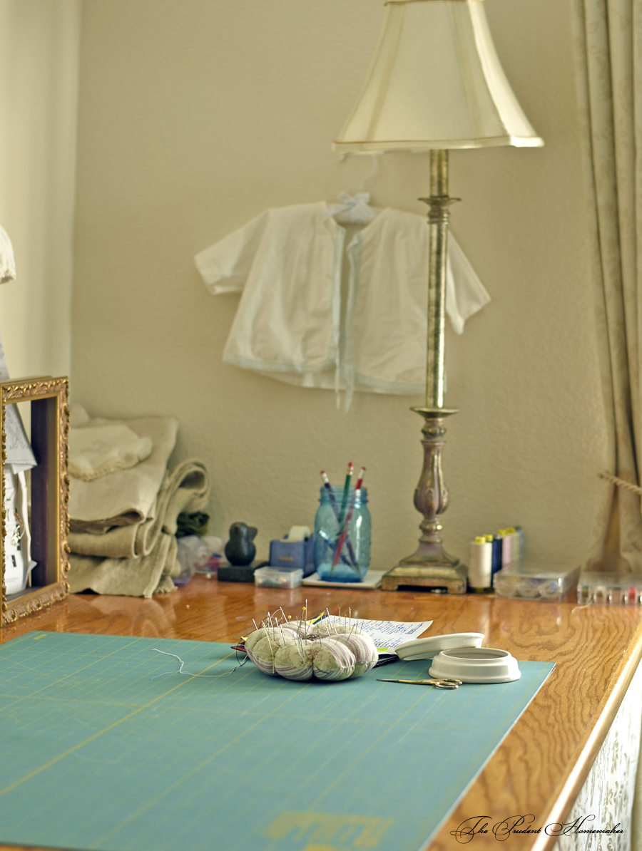 Sewing Room Table The Prudent Homemaker