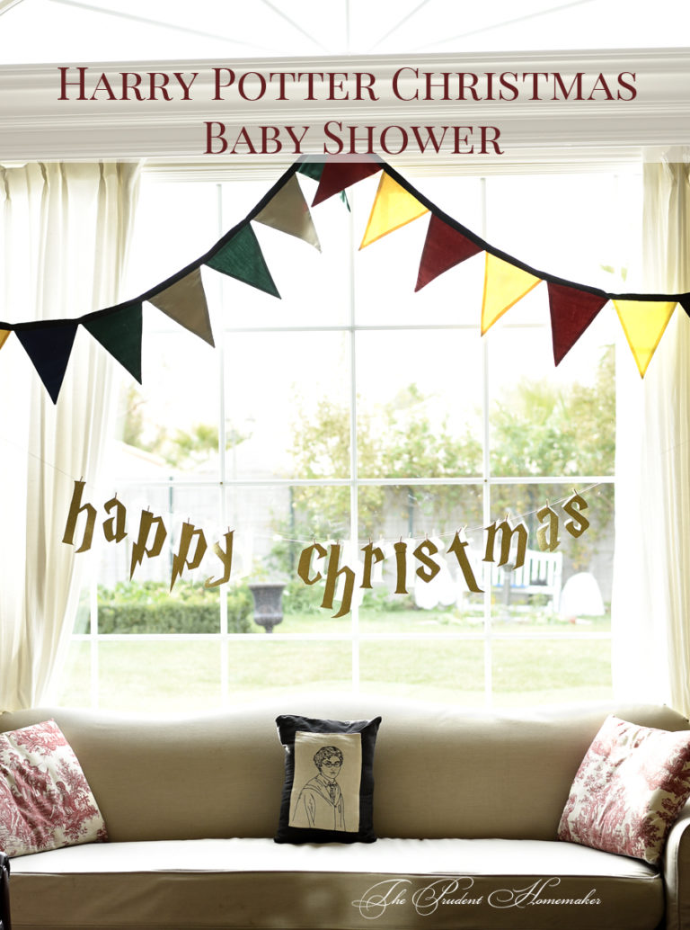 Harry Potter Christmas Baby Shower