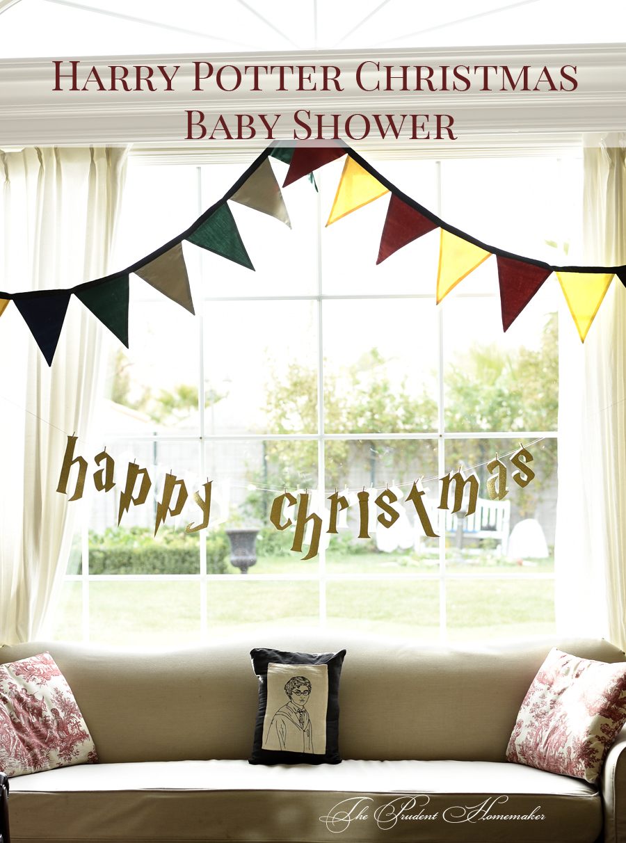 Harry Potter Baby Shower 2 The Prudent Homemaker