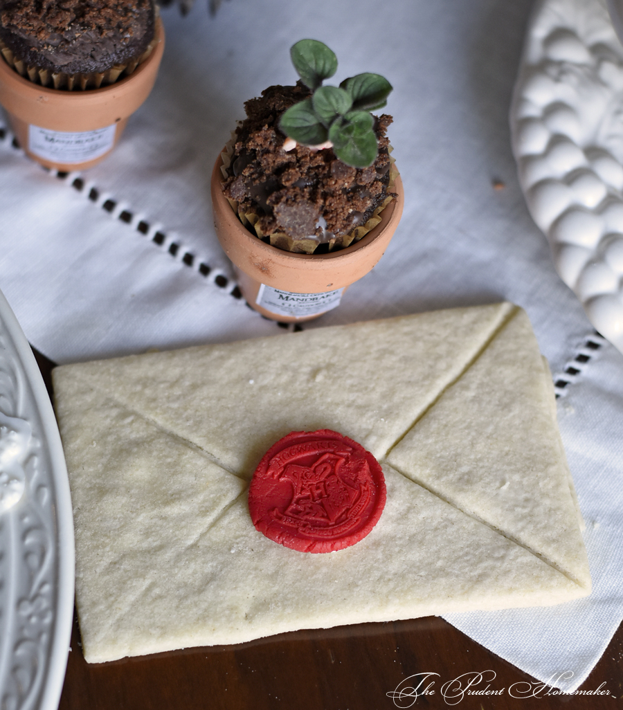 Harry Potter Party Hogwarts Letter Cookie The Prudent Homemaker
