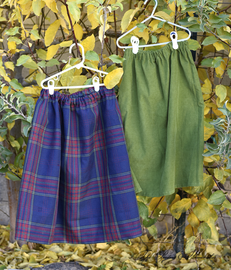 A Gift a Day 2016: Day 7: Two Skirts with Matching Headbands