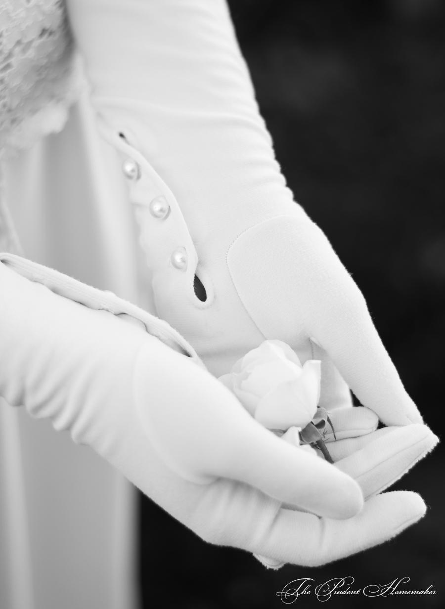 Dollar Dress Gloves Detail The Prudent Homemaker
