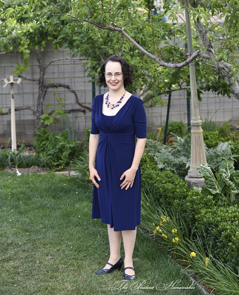Blue Dress The Prudent Homemaker