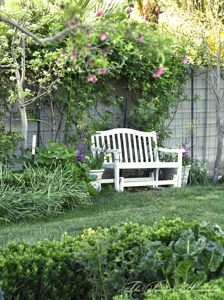 March White Bench The Prudent Homemaker