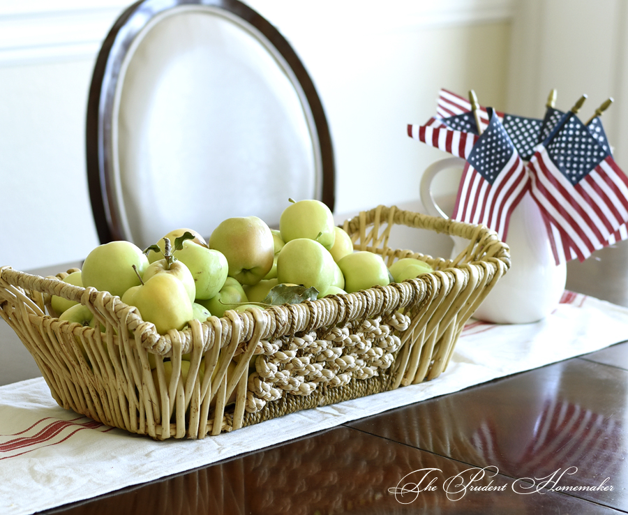 Apples and Flags The Prudent Homemaker