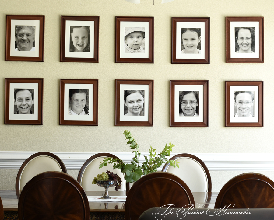 Gallery Wall The Prudent Homemaker