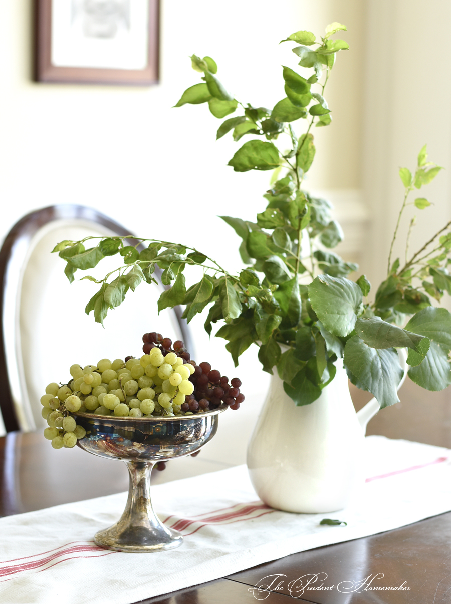 Grapes and Branches The Prudent Homemaker