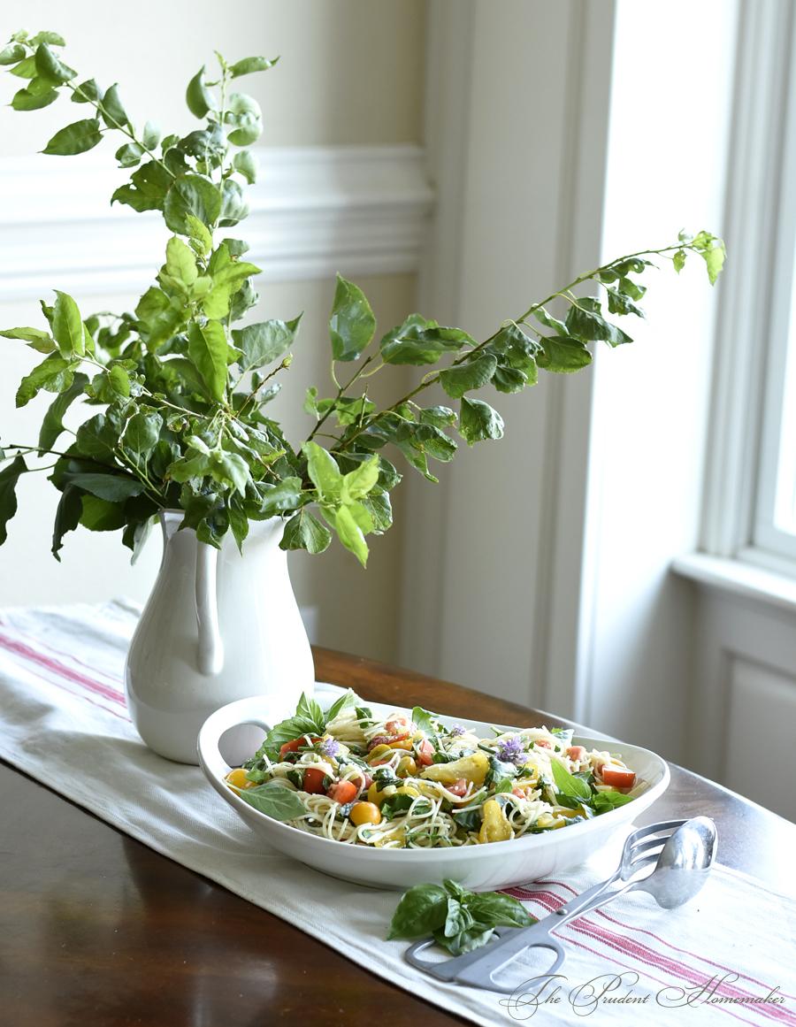 Summer Pasta Salad 2 The Prudent Homemaker