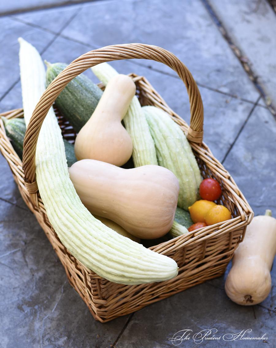August Harvest The Prudent Homemaker