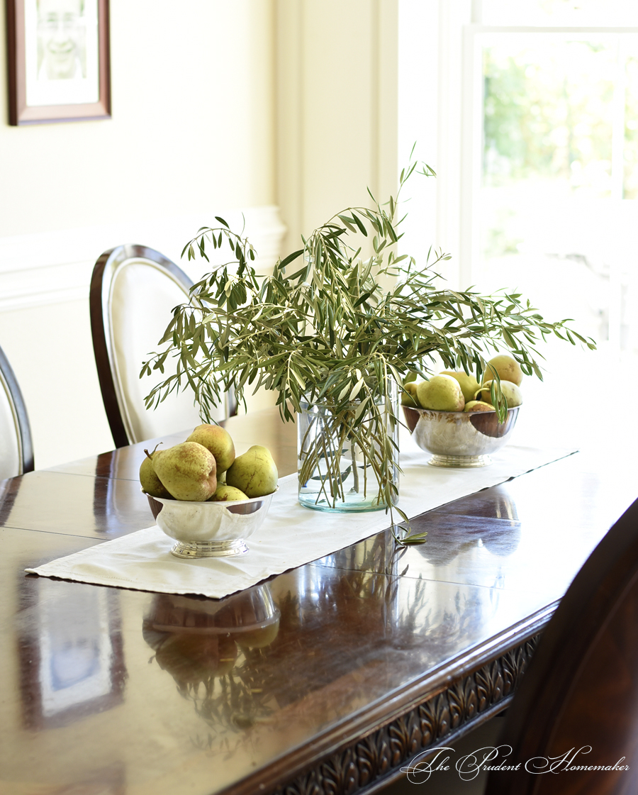 Olive branches and pears The Prudent Homemaker