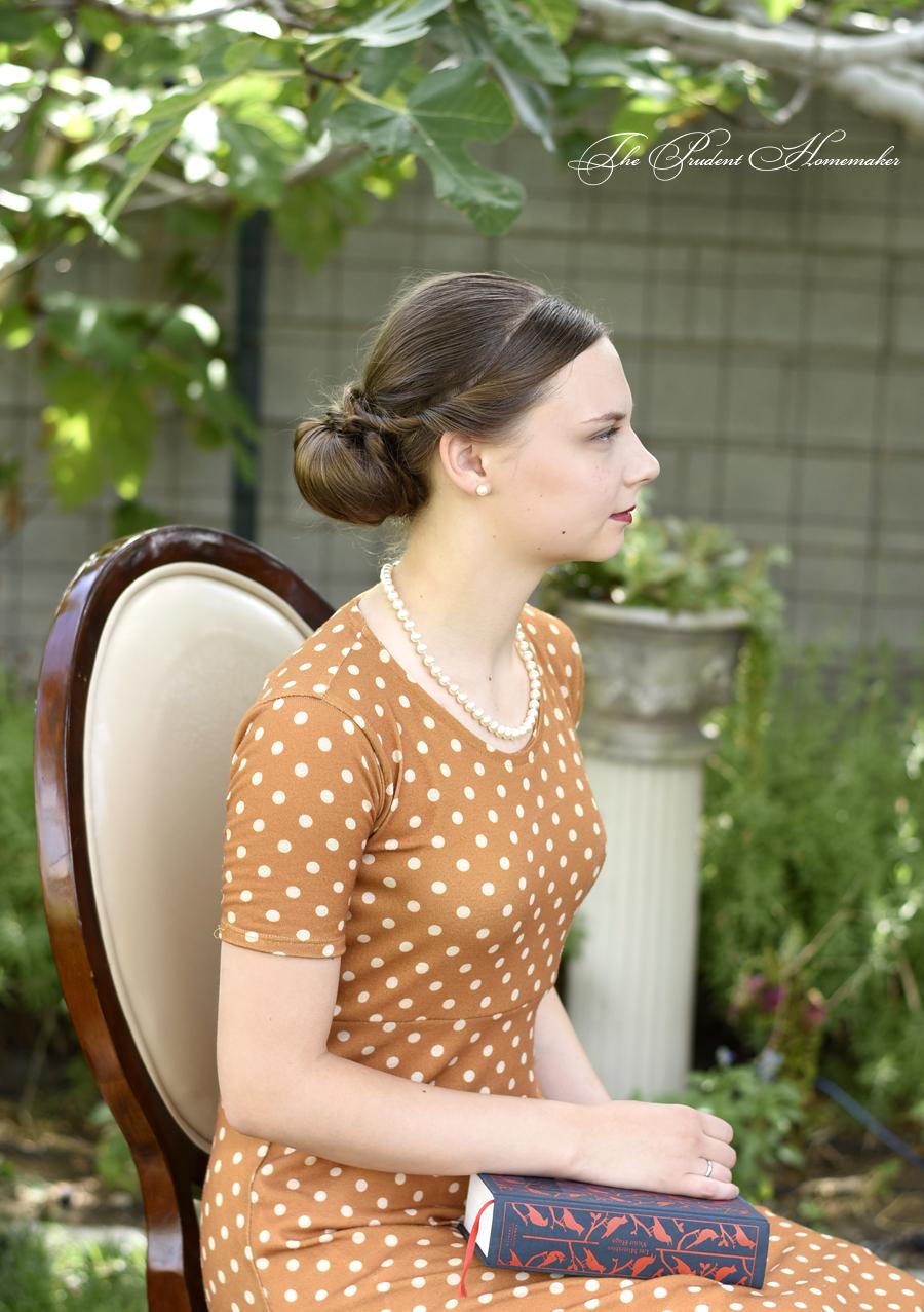 Polka Dot Dress 1 The Prudent Homemaker