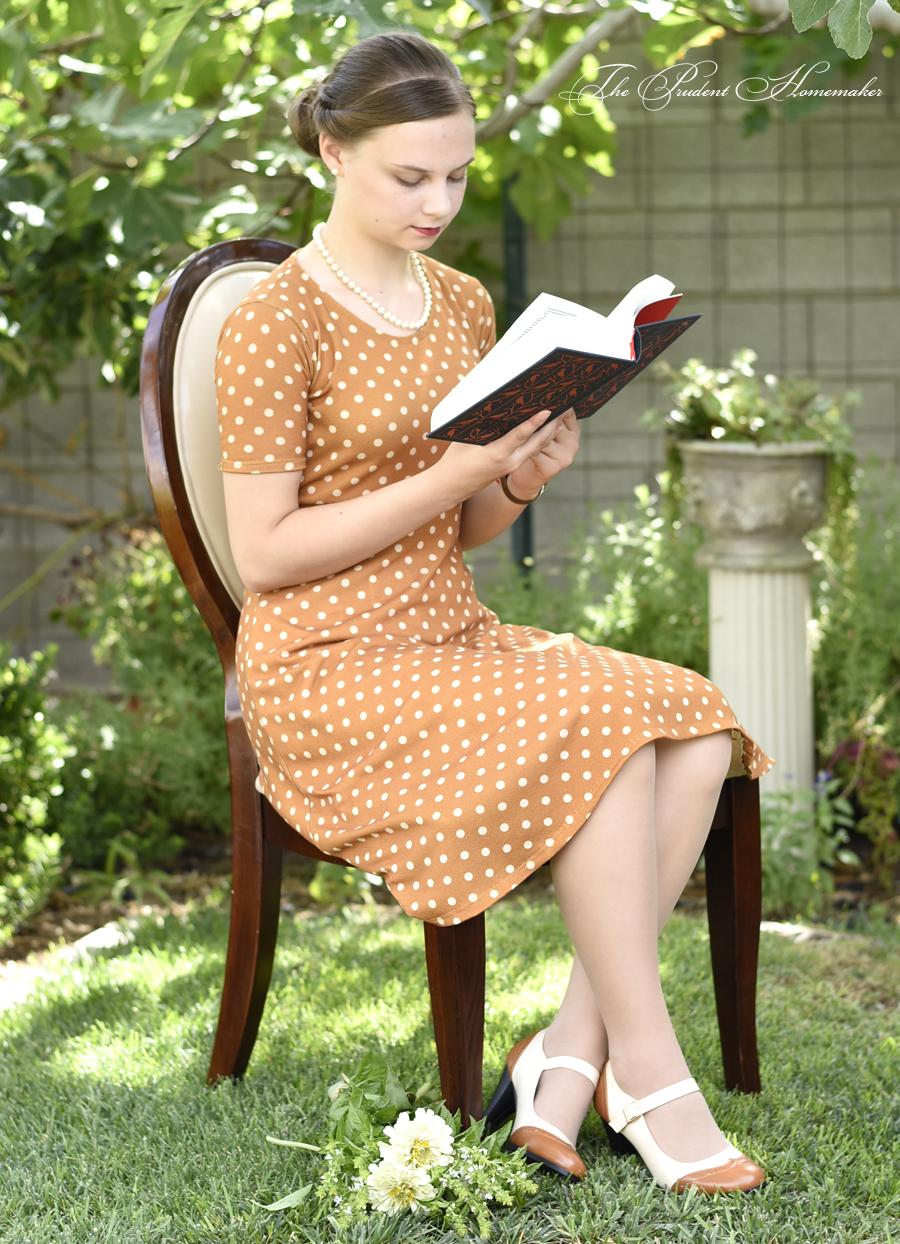 Polka Dot Dress 2 The Prudent Homemaker