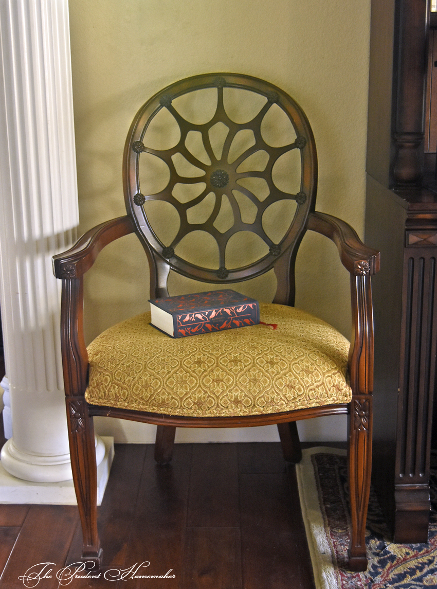 October Chair The Prudent Homemaker