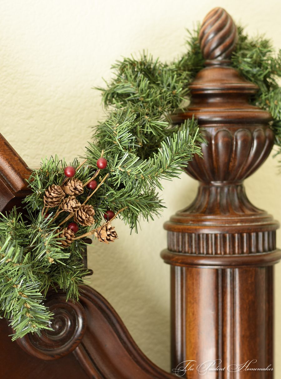 Christmas Bedpost The Prudent Homemaker