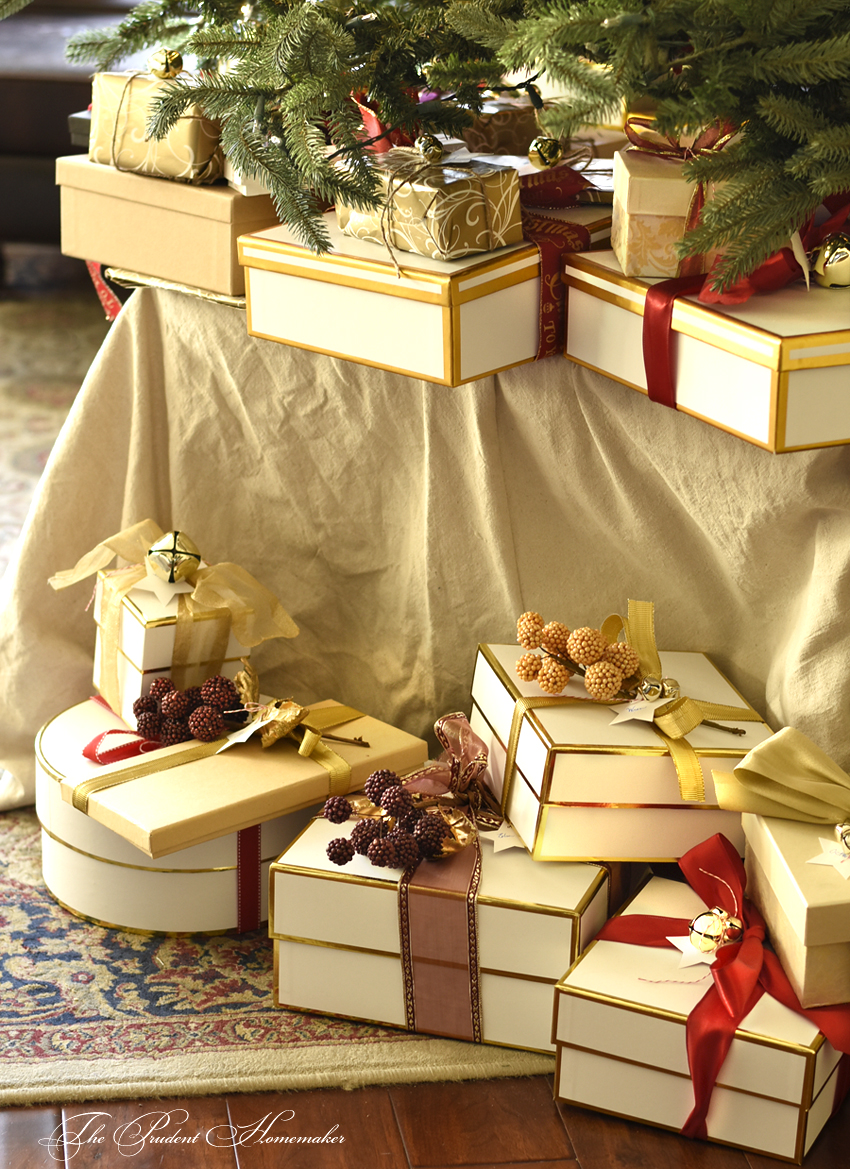 Christmas Gifts Under the Tree The Prudent Homemaker