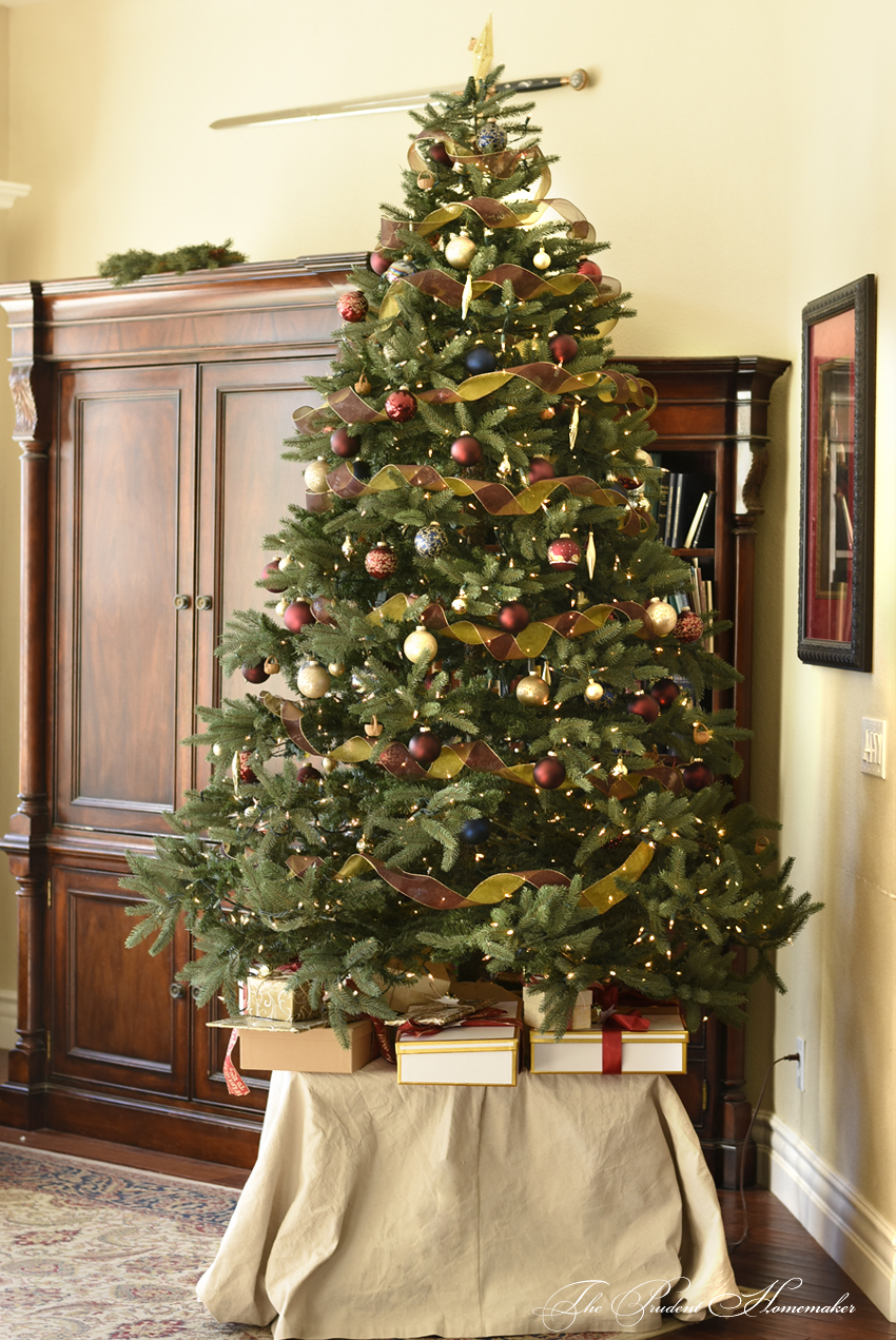 Christmas Tree 2017 The Prudent Homemaker