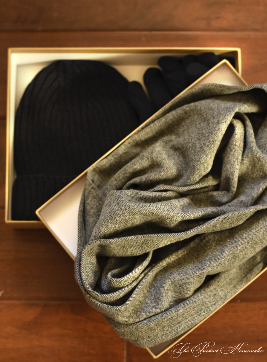 A Gift a Day 2017: Day 3: Brushed Flannel Scarf