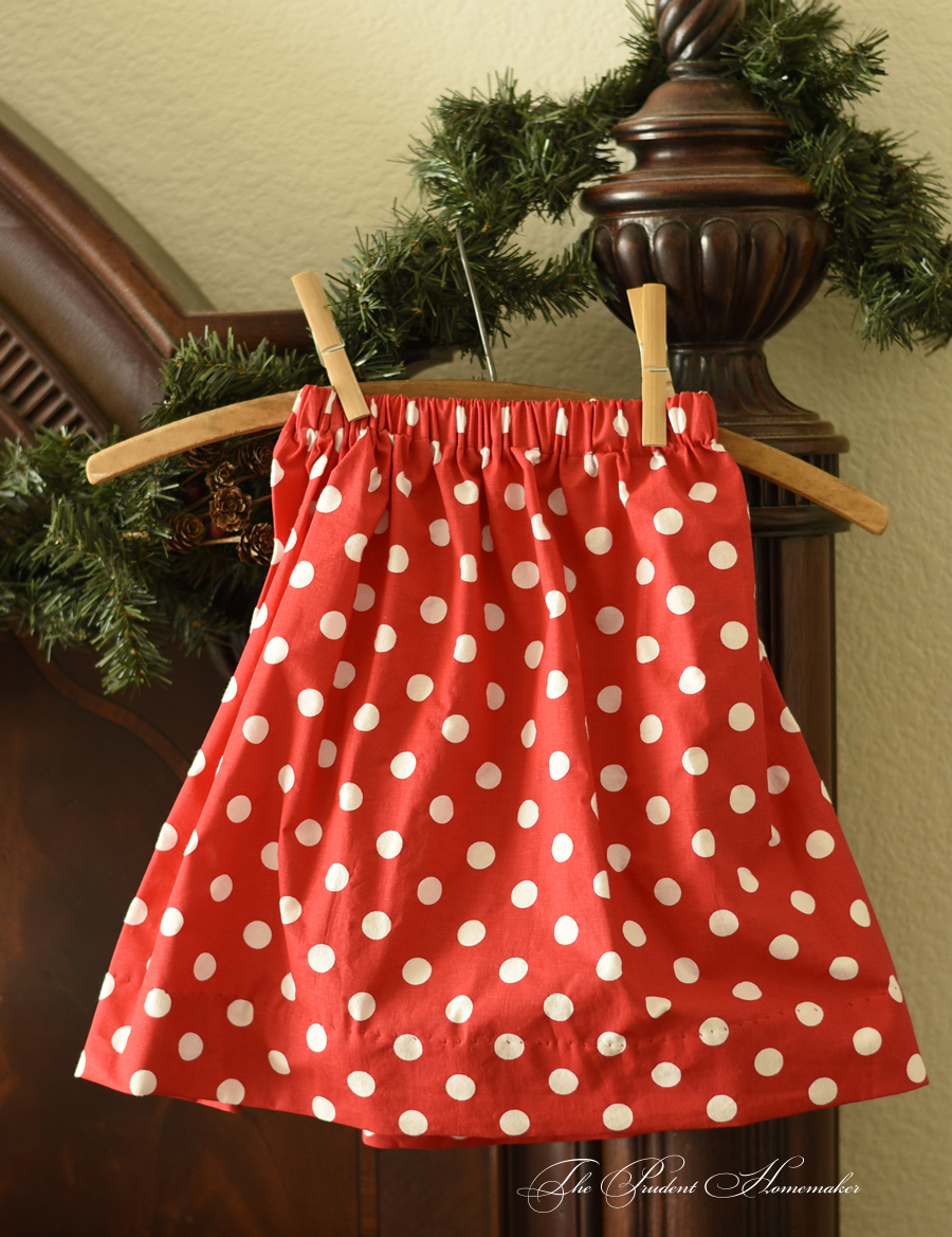 Polka Dot Skirt The Prudent Homemaker