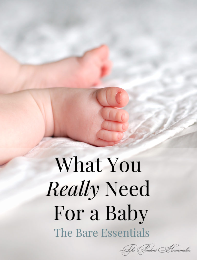 What You Really Need For a Baby: The Bare Essentials