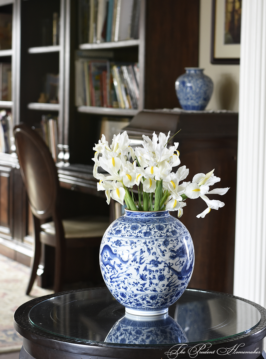 Iris in Entry The Prudent Homemaker